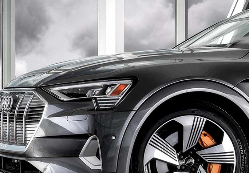 19. Audi e-tron, in cooperation with Brian Harris Audi, Baton Rouge  (logo for composite position)