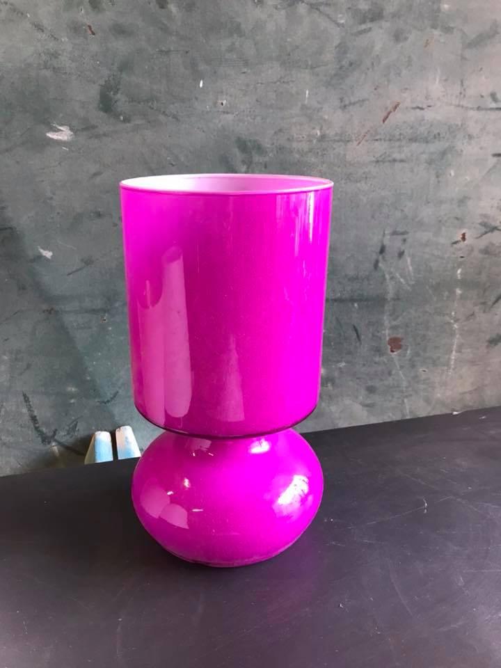 En IkeaChasseurdinfluendéco Chevet De Lampe Violet Verre 4R35AjqL