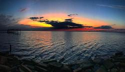 Good mornin' y'all!!_#sunrise #theturftailors #florida #fortwaltonbeach #lawnmaintenance #turftailor