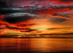 Just a little Gulf Coast sunrise 🌅 🌺 #theturftailors #turftailors #lawncare #lawnmaintenance #turf