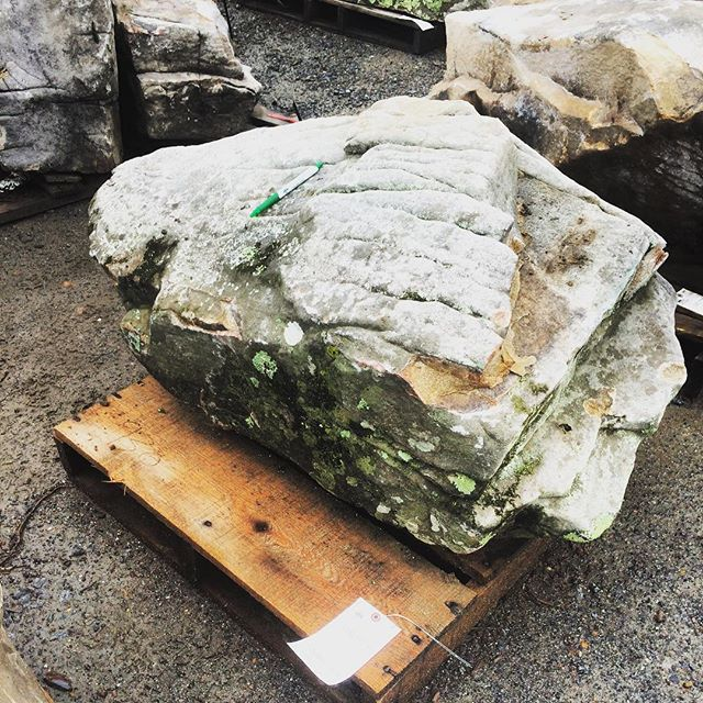 We gots the boulders. Straight outta Georgia