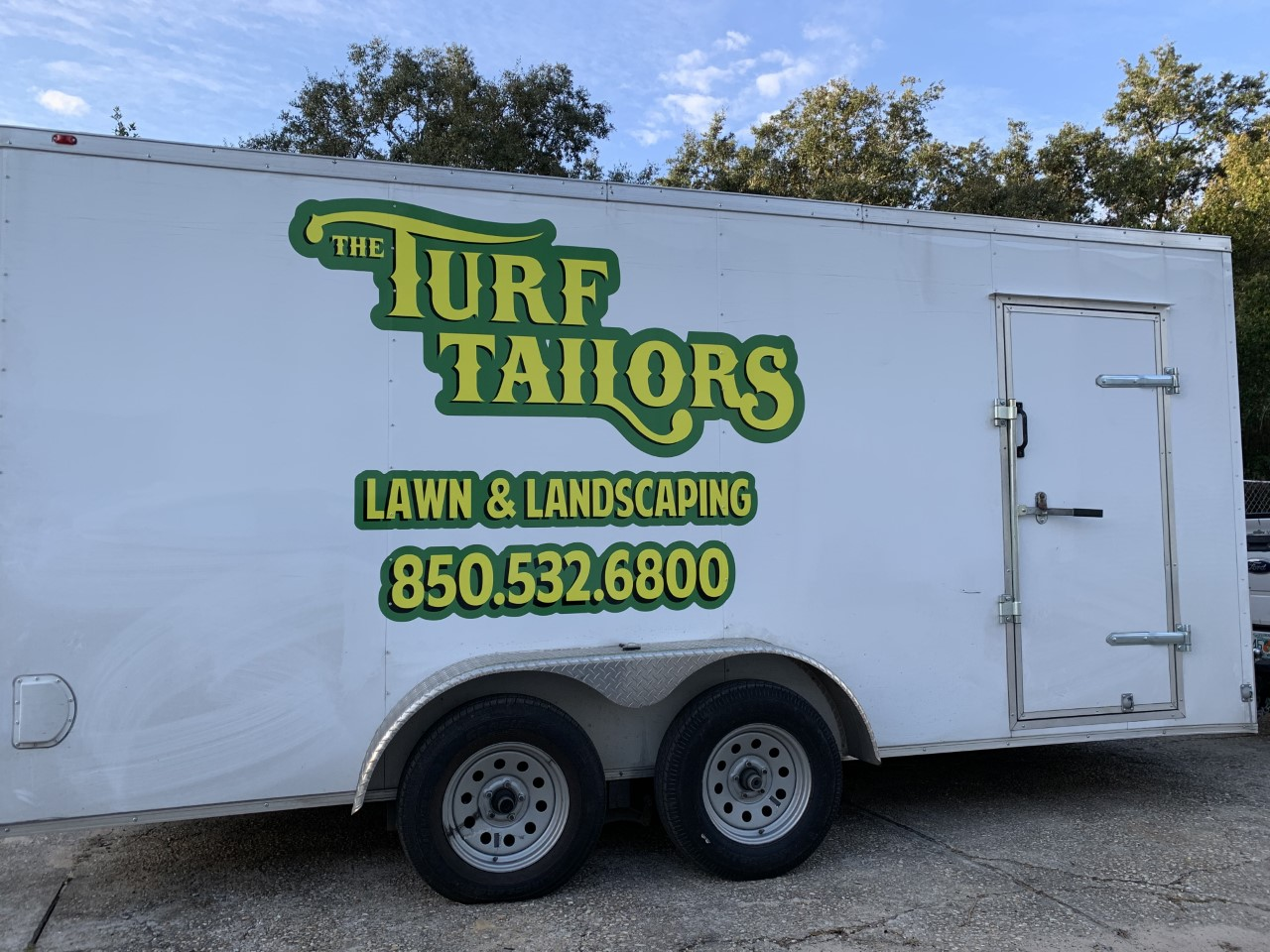 The Turf Tailor trailer