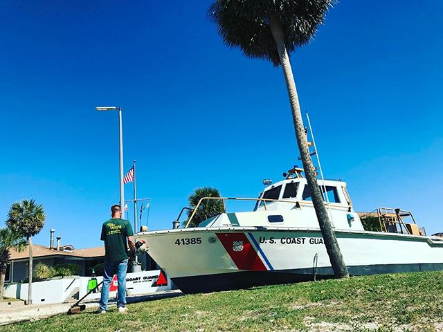 Some days we hang out at the Coast Guard Station