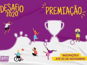 Partiu inovar: Premiação do Desafio Criativos da Escola 2020