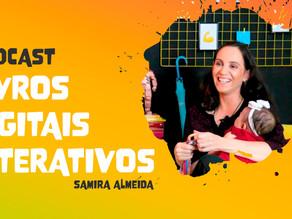 Novidades do mercado editorial em podcast, com Samira Almeida