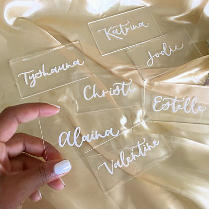 Acrylic Placecards