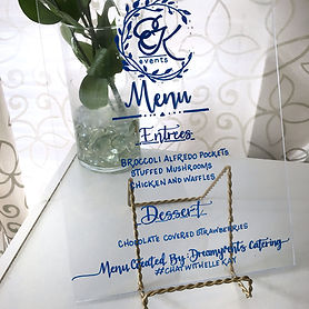 Calligraphy Signage Rental