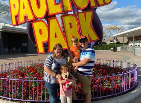 Social Distancing at Paultons Park Peppa Pig World Theme Park