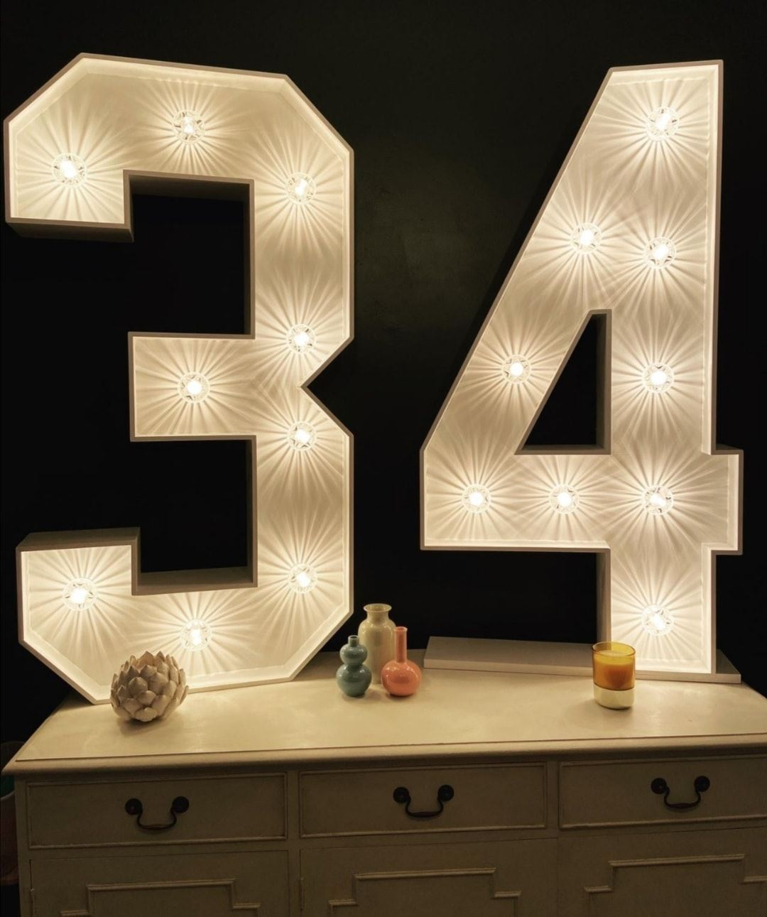 Light Up Numbers 34