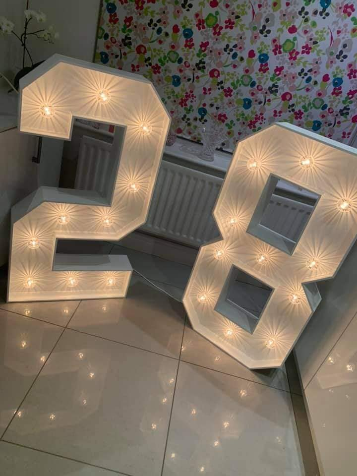 Light Up 28 Numbers