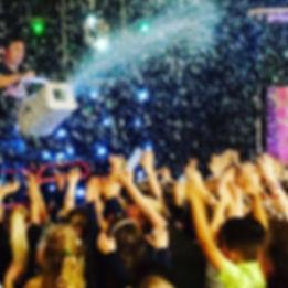 Kids Snow Disco Party