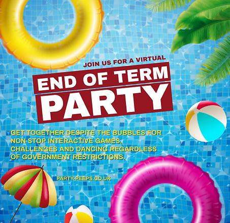 VIRTUAL SCHOOL DISCO PARTY END OF TERTM