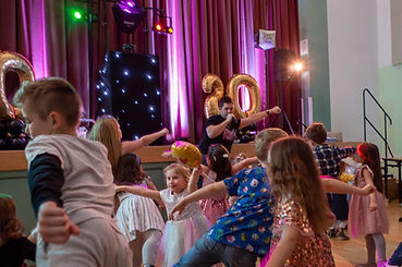 Kids Disco Party Dancing