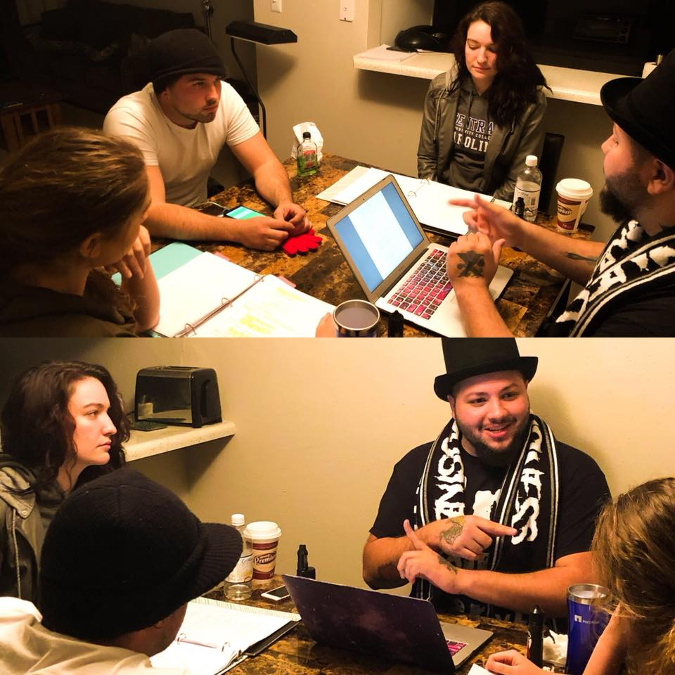 Dead de la Creme table read
