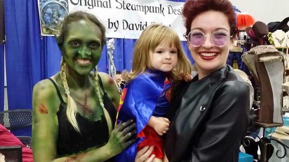 Two Ariannas and a Goblin!