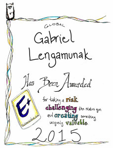 E+ Award_Global_2015