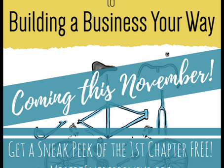 """""""A Misfit Entrepreneur's Guide to Building a Business Your Way"""" is Being Released This Novembe"""