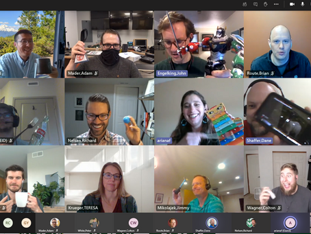 When was the last time you said a virtual meeting was fun?