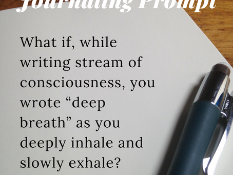 Try This One Simple Journaling Prompt & Improve Your Mindfulness