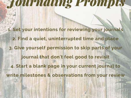Stones of Remembrance – Try These 4 Steps for Reviewing Your Journal