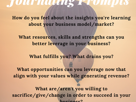 Reflection Questions for Soul Searching with Your Business Model
