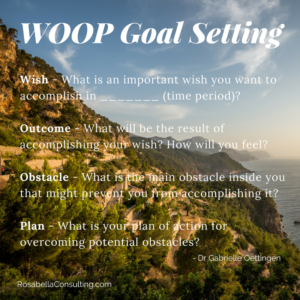 Tired of SMART Goals? Try WOOP!