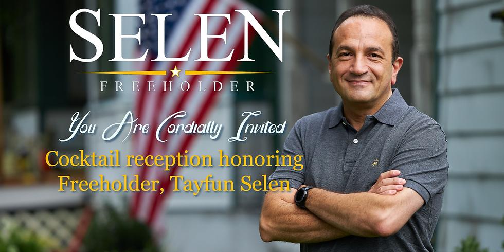Outdoor Cocktails Fundraiser for Morris County Freeholder Tayfun Selen