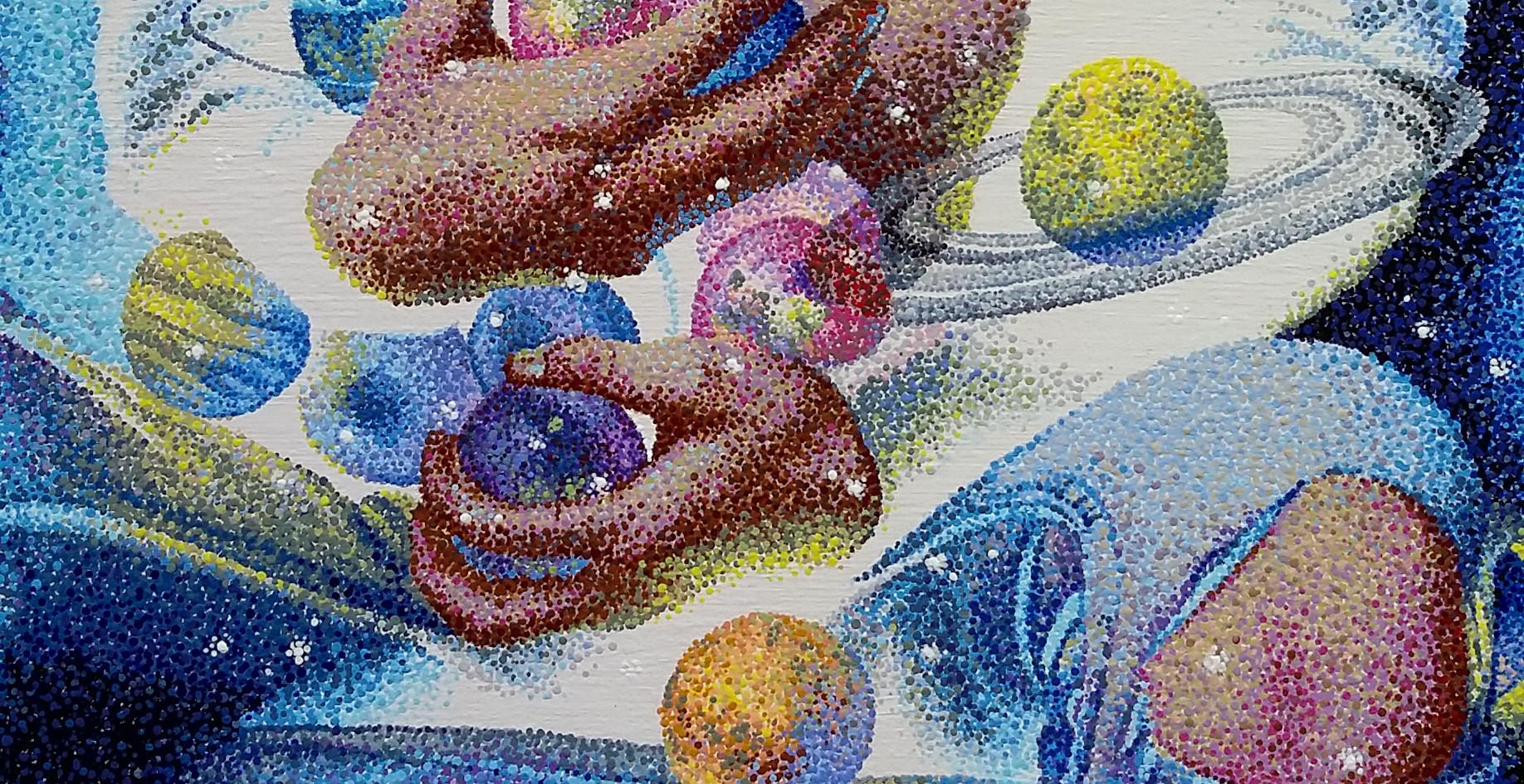 """""""The Senseless Dream of Divinity"""" detail"""