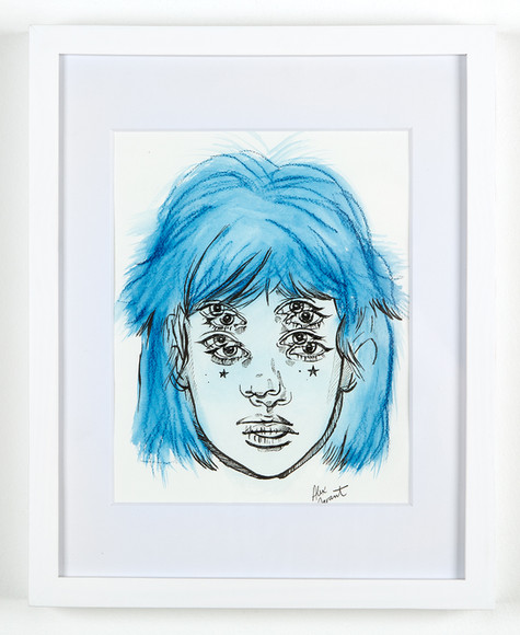 Alex Garant-Only the Blues 3-framed.jpg
