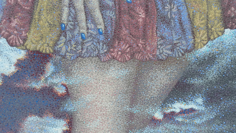 """""""Small Consequence of Size"""" detail"""