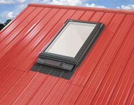Velux Skylight Window on Perimeter Roofing VA lynchburg