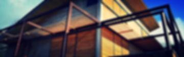 Brise vue bois & métal / Volets. Création des brise vue et des volets qui marie le métal et le bois pour un rendu très contemporain.