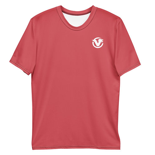 Tropical Swag Tee - Coral