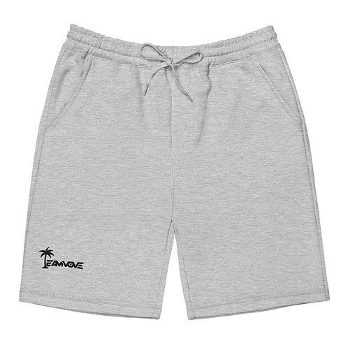 Tropical Fleece Short - Grey