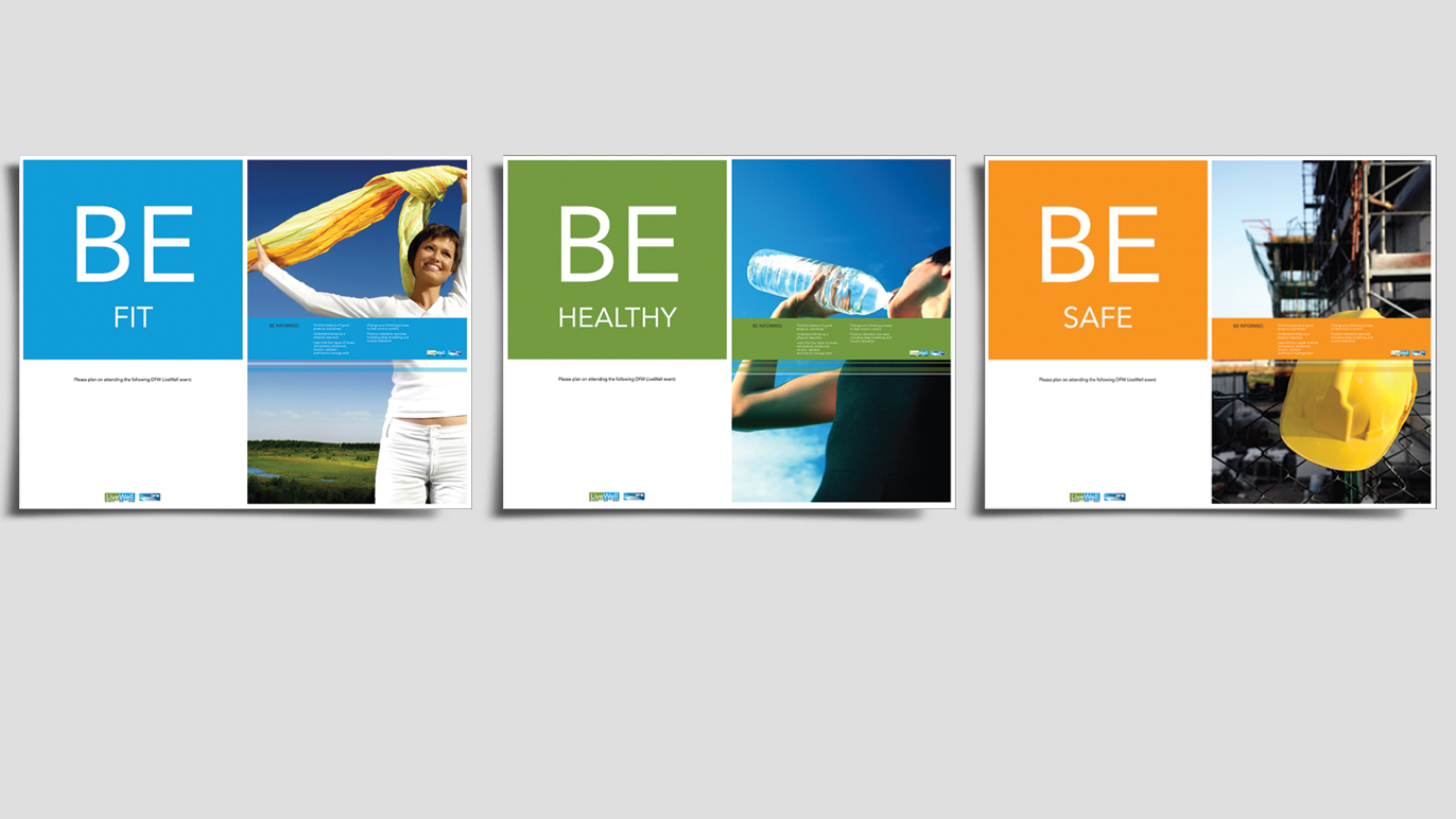LiveWell Event Poster Series