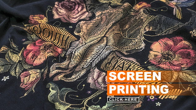 Inkd Apparel uses the highest quality inks that will never crack or bleed. In addition to traditional silk screen, Inkd also offers many special printing techniques and effects to give your apparel the decoration as unique as you are. Contact an apparel expert to learn about all of these techniques and effects.