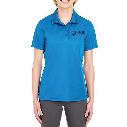Xeus Blue Women's Polo