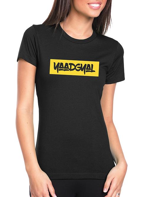Yaadgyal Yellow Stripe Tee (Women's)