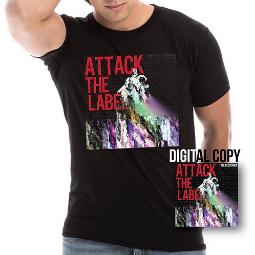 Attack The Label's Glitch Art Tee