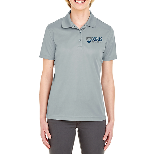 Xeus Gray Women's Polo