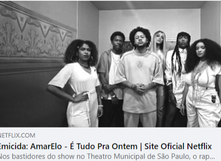 SOBRE O DOCUMENTÁRIO AMARELO - É TUDO PARA ONTEM, DE EMICIDA