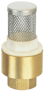 SAILING SBFV 銅上牙尾拍連不銹鋼網 SL Brass Foot Valve Stainless Steel Screen