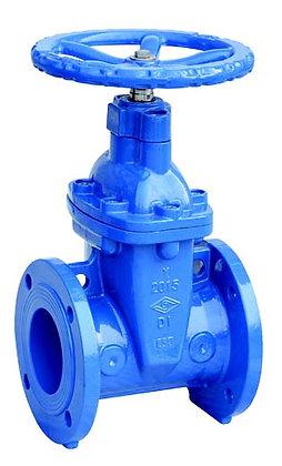 MEIDE MECH Z45X (短身) 球墨鑄鐵法蘭式膠膽閘掣 ductile iron resilient gate valve