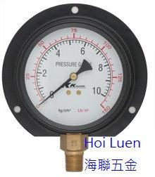 KK 131 黑鐵殼壓力表 pressure gauge