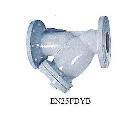 KITZ Fig.EN25FDYB 球墨鑄鐵法蘭式Y隔 PN25 Ductile Iron Y Strainer