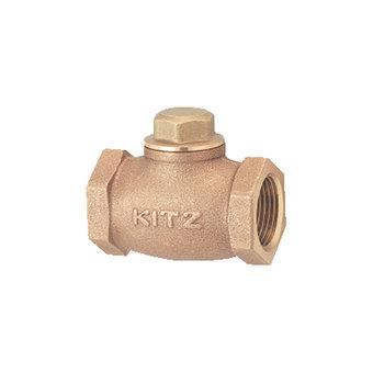 KITZ Fig.F 銅上牙橫身升降式止回閥 bronze lift check valve