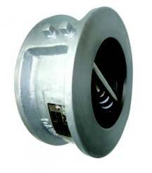 KITZ Fig.PN16FWNBME 生鐵對夾式雙掩止回閥 cast iron wafer type dual plate check valve