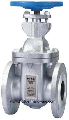 KITZ Fig.EN25SLBWS 球墨鑄鐵法蘭式不銹鋼芯閘掣 PN25 ductile iron gate valve