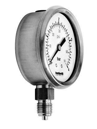 FANTINELLI 不銹鋼壓力表 stainless steel pressure gauge