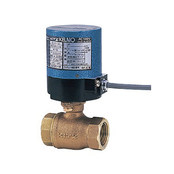 KITZ Fig.EA200-TE 銅上牙電動波子掣 220V KITZ Fig.EA200-TE Bronze Ball Valve (Electrical Actuated 220V)